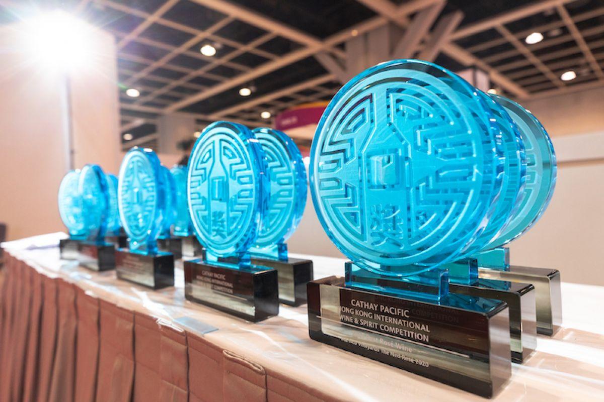 CATHAY PACIFIC AWARD 2020. HONG KONG INTERNATIONAL WINE&SPIRIT COMPETITION